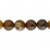 Iron Zebra Jasper 8mm Round 21pcs Approx